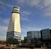 Aéroport international de Vienne - contrôlez le towwer Image libre de droits