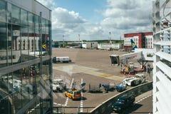 Aéroport international de Vilnius Photos stock