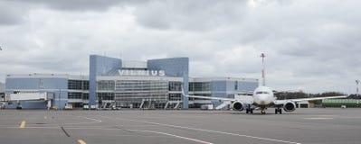 Aéroport international de Vilnius Photos libres de droits