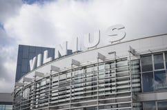 Aéroport international de Vilnius Photo libre de droits