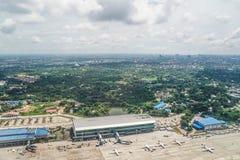 Aéroport international de Yangon Images stock