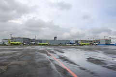 Aéroport international Domodedovo de Moscou Photographie stock libre de droits