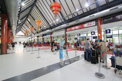 Aéroport international du Cambodge Siem Reap Photo stock