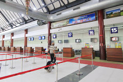 Aéroport international du Cambodge Siem Reap Photo libre de droits