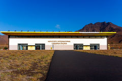 Aéroport international du Cap Vert de Cesaria Evora Photo libre de droits