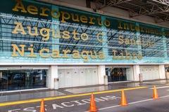 Aéroport international du Nicaragua Images libres de droits