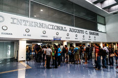 Aéroport international du Nicaragua Photo libre de droits