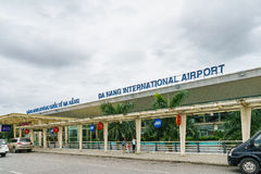 Aéroport international du Vietnam Danang Photo stock