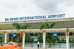 Aéroport international du Vietnam Danang Images libres de droits