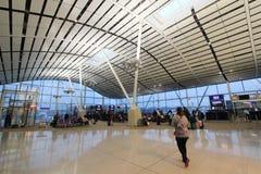 Aéroport international en Hong Kong Photographie stock