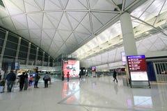 Aéroport international en Hong Kong Photos libres de droits