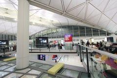 Aéroport international en Hong Kong Photographie stock libre de droits