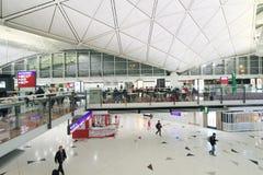 Aéroport international en Hong Kong Images stock