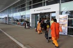 Aéroport international Fidji de Nadi Images libres de droits