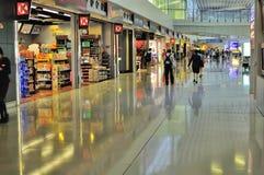 Aéroport international moderne et futuriste Image stock