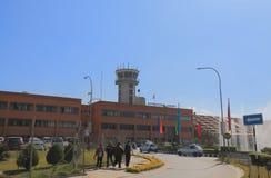 Aéroport international Népal de Katmandou Photo libre de droits