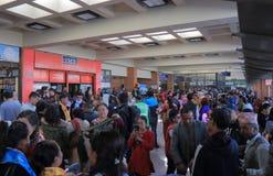 Aéroport international Népal de Katmandou Images stock
