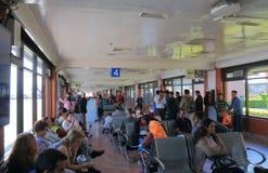 Aéroport international Népal de Katmandou Images libres de droits
