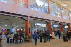 Aéroport international Népal de Katmandou Photographie stock