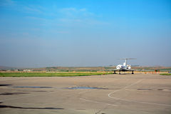 Aéroport international, Pyong Yang, Nord-Corée images stock