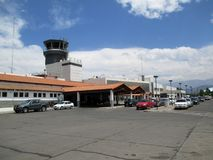 Aéroport international Salta Argentine d'emes de ¼ de Martin Miguel de GÃ Image stock