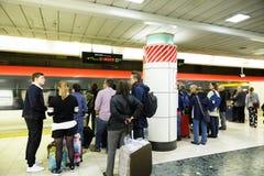 Aéroport international souterrain de Narita Photos libres de droits