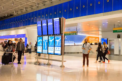 Aéroport international terminal de JetBlue JFK Image stock