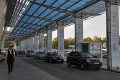 Aéroport international Zhuliany, Ukraine de Kyiv Photographie stock libre de droits