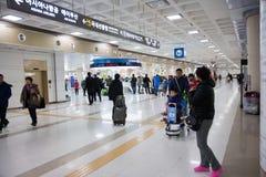 Aéroport, Jeju, Corée du Sud Photo stock