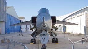 Aéroport Le Bourget, France - 20 août 2013 : L'avion de chasse prend Images stock