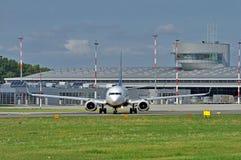 Aéroport Lodz, Pologne Image libre de droits