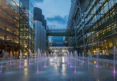 Aéroport Londres Angleterre de Heathrow Images libres de droits