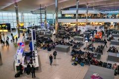 Aéroport Londres de Heathrow Photographie stock