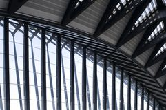 Aéroport Lyon Photo stock