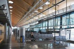 Aéroport Madrid-Barajas Image stock