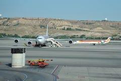 Aéroport Madrid-Barajas Photographie stock libre de droits