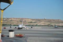Aéroport Madrid-Barajas Photographie stock