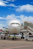 Aéroport masculin Photographie stock libre de droits