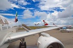 Aéroport masculin Images libres de droits