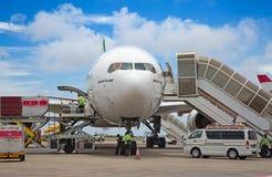 Aéroport masculin Photo stock