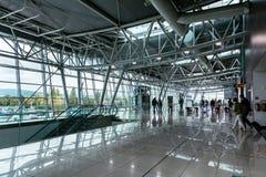Aéroport Milan Rastislav Stefanik, Slovaquie du ` s de Bratislava d'intérieur Photos libres de droits