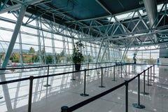 Aéroport Milan Rastislav Stefanik, Slovaquie du ` s de Bratislava d'intérieur Images stock