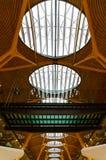 Aéroport moderne à Madrid Photographie stock