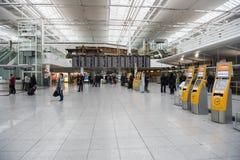Aéroport Munich Photos libres de droits