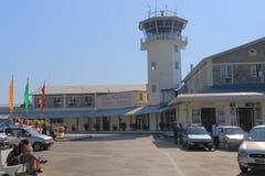 Aéroport Népal de Pokhara Images libres de droits