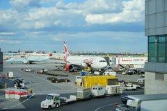 Aéroport occupé de Canada Images stock