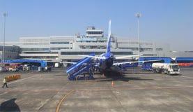 Aéroport occupé de Mumbai Photographie stock libre de droits