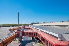 Aéroport Otto Lilienthal Terminal de Berlin Tegel Image stock