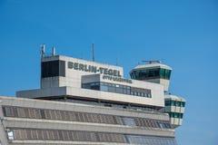Aéroport Otto Lilienthal Terminal de Berlin Tegel Images libres de droits