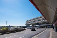 Aéroport Otto Lilienthal Terminal de Berlin Tegel Photographie stock libre de droits